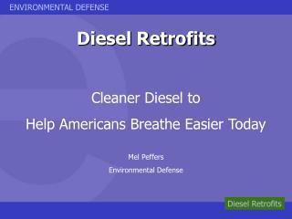 Diesel Retrofits