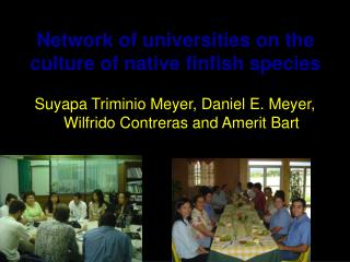 Suyapa Triminio Meyer, Daniel E. Meyer, Wilfrido Contreras and Amerit Bart