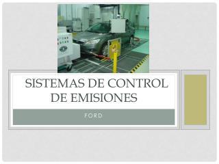 sistemas de Control de emisiones