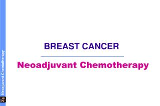 Neoadjuvant chemo for breast cancer
