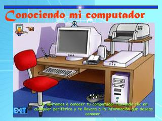 Conociendo mi computador