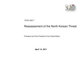 Reassessment of the North Korean Threat