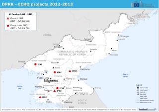 DPRK - ECHO projects 2012-2013