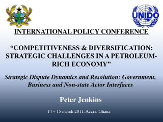 INTERNATIONAL POLICY CONFERENCE