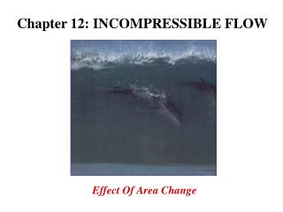 Chapter 12: INCOMPRESSIBLE FLOW