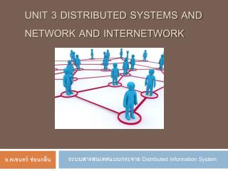 Unit 3 Distributed Systems And Network and Internetwork