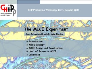 The MICE Experiment