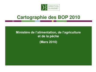 Ministère de l'alimentation, de l'agriculture et de la pêche (Mars 2010)