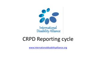 CRPD  Reporting  cycle