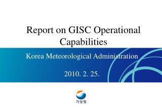 Korea Meteorological Administration 2010. 2. 25.