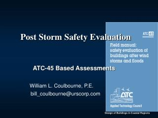 Post Storm Safety Evaluation