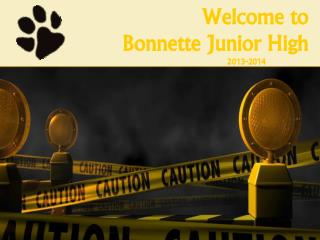 Welcome to  Bonnette Junior High