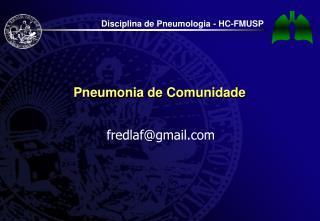 Pneumonia de Comunidade