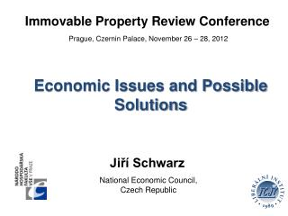 Immovable Property Review Conference  Prague, Czernin Palace, November 26 � 28, 2012