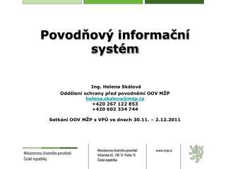 Základní informace k POVIS