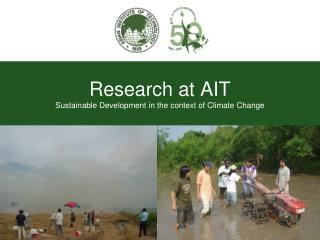 Research at AIT Sustainable Development in the context of Climate Change