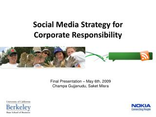 Social Media Strategy for Corporate Responsibility