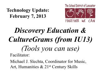 Technology Update: February 7, 2013