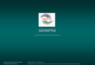 SIDINFRA Consulting | Outsourcing |Infrastructure