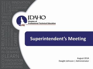 Superintendent's Meeting