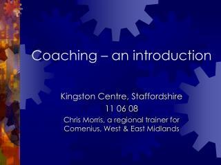 Coaching   an introduction