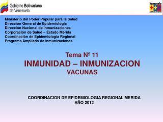 Ministerio del Poder Popular para la Salud Dirección General de Epidemiología