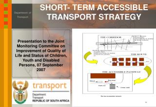 SHORT- TERM ACCESSIBLE TRANSPORT STRATEGY