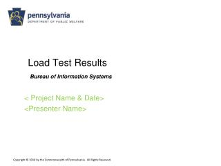 Load Test Results