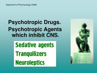 Department of Pharmacology, DSMA