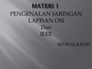 Materi  1