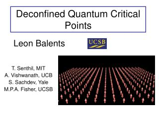 Deconfined Quantum Critical Points
