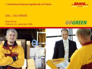 DHL – GO GREEN