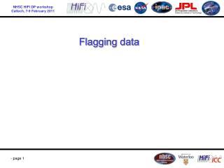 Flagging data
