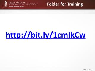 Folder for Training