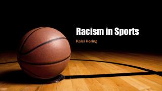 Racism in Sports