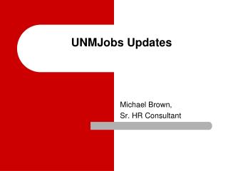 UNMJobs Updates