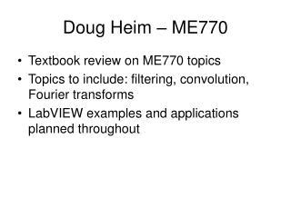 Doug Heim – ME770