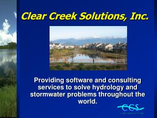 Clear Creek Solutions, Inc.