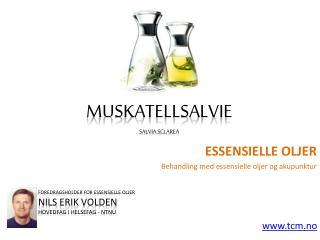 Essensielle oljer - Muskatellsalvie