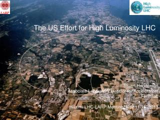 The US Effort for High Luminosity LHC