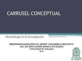 CARRUSEL CONCEPTUAL