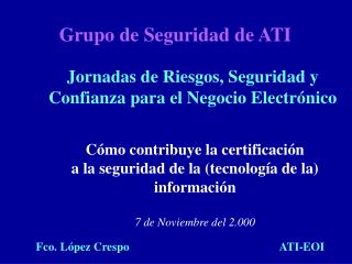 Grupo de Seguridad de ATI
