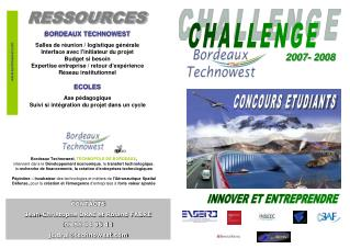 Bordeaux Technowest ,  TECHNOPOLE DE BORDEAUX ,