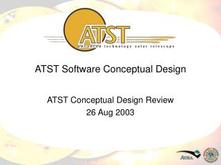 ATST Software Conceptual Design