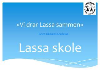 «Vi drar Lassa sammen» linksidene.no/lassa