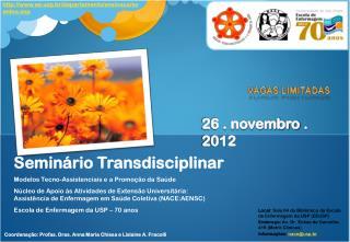 Seminário Transdisciplinar