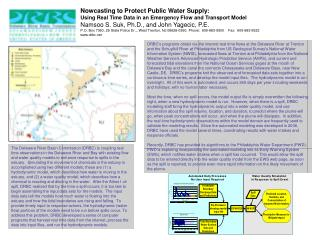 Nowcasting to Protect Public Water Supply: