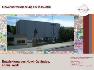 Dipl.-Ing. Josef Schoofs Immobilien GmbH Egmontstraße  2b // 47623 Kevelaer Ansprechpartner: