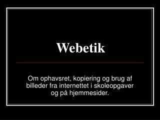 Webetik