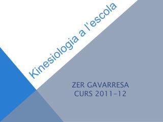 Kinesiologia a  l ' escola